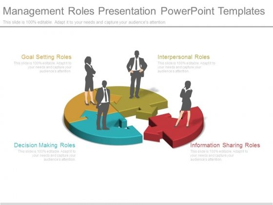 Management Roles Presentation Powerpoint Templates