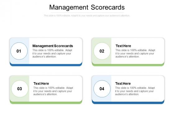 Management Scorecards Ppt PowerPoint Presentation Model Graphic Tips Cpb