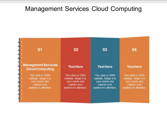Management Services Cloud Computing Ppt PowerPoint Presentation Gallery Examples Cpb