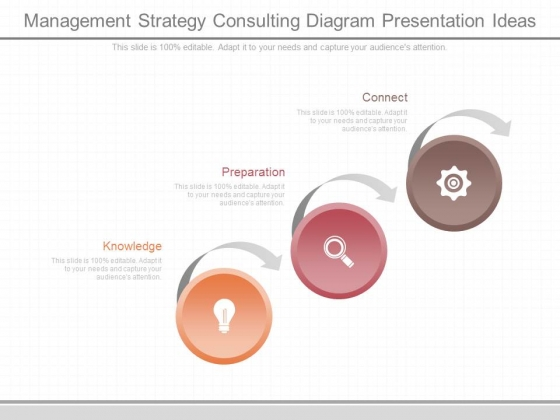 Management Strategy Consulting Diagram Presentation Ideas