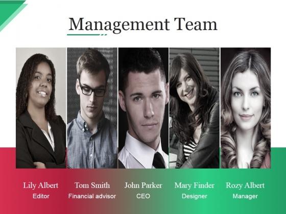 Management Team Ppt PowerPoint Presentation Inspiration Slide Portrait