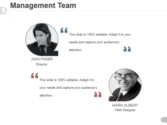 Management Team Template 3 Ppt PowerPoint Presentation Guidelines