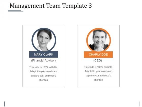 Management Team Template 3 Ppt PowerPoint Presentation Model