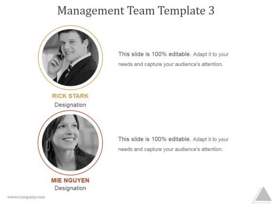 Management Team Template 3 Ppt PowerPoint Presentation Visual Aids