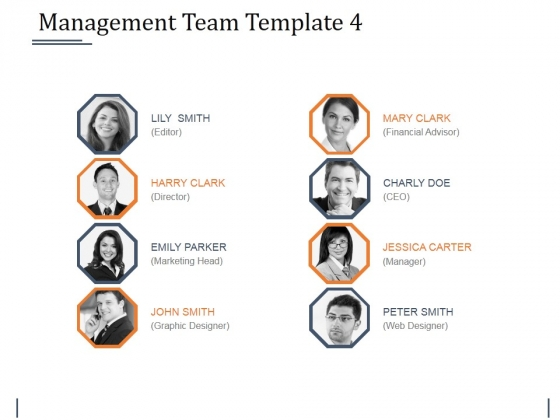 Management Team Template 4 Ppt PowerPoint Presentation Summary Infographic Template