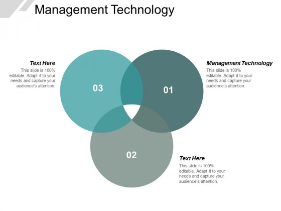 Management Technology Ppt PowerPoint Presentation Layouts Maker Cpb