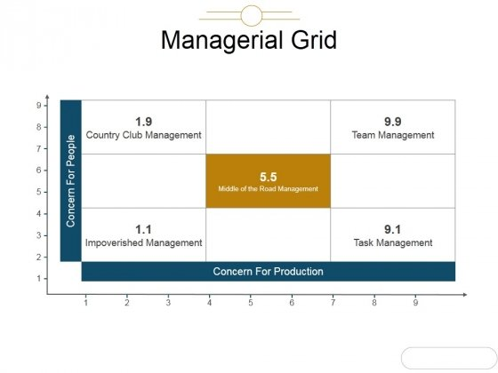 Managerial Grid Ppt PowerPoint Presentation Topics