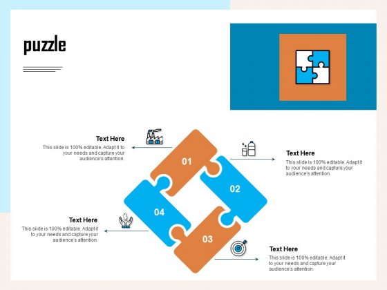 Managing Agriculture Land And Water Puzzle Ppt Infographic Template Infographics PDF