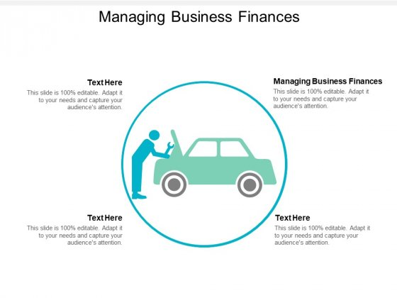 Managing Business Finances Ppt PowerPoint Presentation Portfolio Background Images Cpb