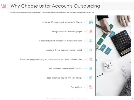 Managing CFO Services Why Choose Us For Accounts Outsourcing Ppt Picture PDF