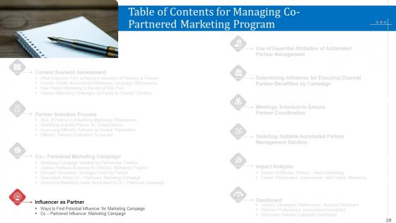 Managing_Co_Partnered_Marketing_Program_Ppt_PowerPoint_Presentation_Complete_With_Slides_Slide_20