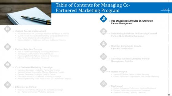 Managing_Co_Partnered_Marketing_Program_Ppt_PowerPoint_Presentation_Complete_With_Slides_Slide_23