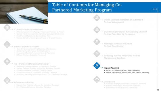 Managing_Co_Partnered_Marketing_Program_Ppt_PowerPoint_Presentation_Complete_With_Slides_Slide_31