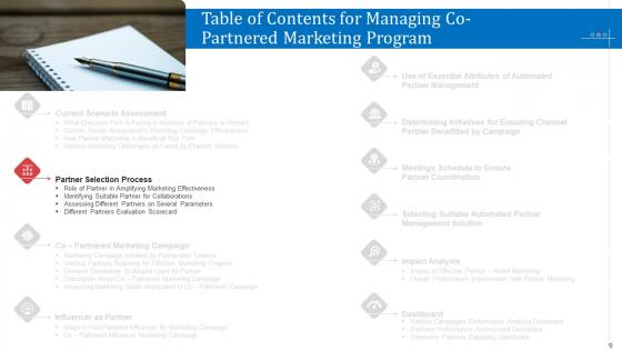 Managing_Co_Partnered_Marketing_Program_Ppt_PowerPoint_Presentation_Complete_With_Slides_Slide_9