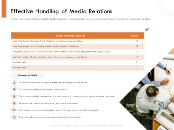 Managing Companys Online Presence Effective Handling Of Media Relations Microsoft PDF