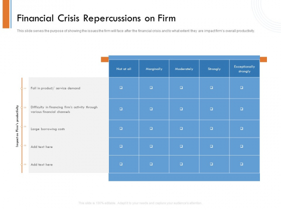 Managing Companys Online Presence Financial Crisis Repercussions On Firm Formats PDF