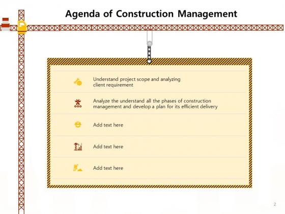 Managing_Construction_Work_Ppt_PowerPoint_Presentation_Complete_Deck_With_Slides_Slide_2