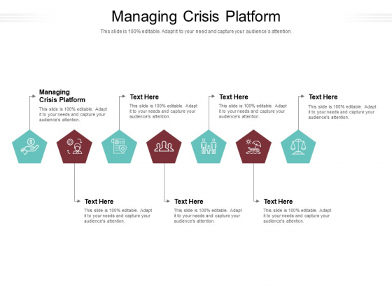 Managing Crisis Platform Ppt PowerPoint Presentation Infographic Template Shapes Cpb Pdf