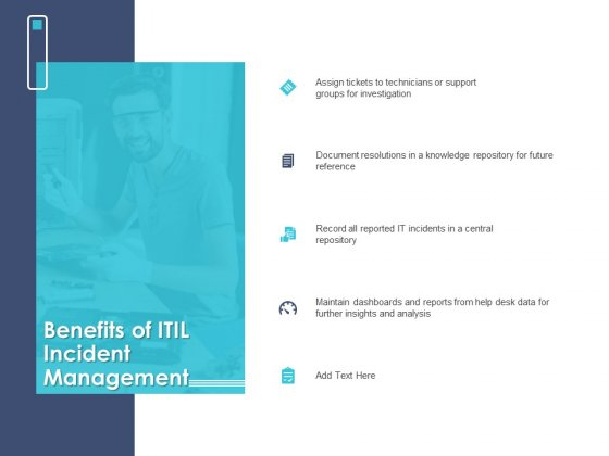 Managing ITIL Incidents Planning Benefits Of ITIL Incident Management Themes PDF