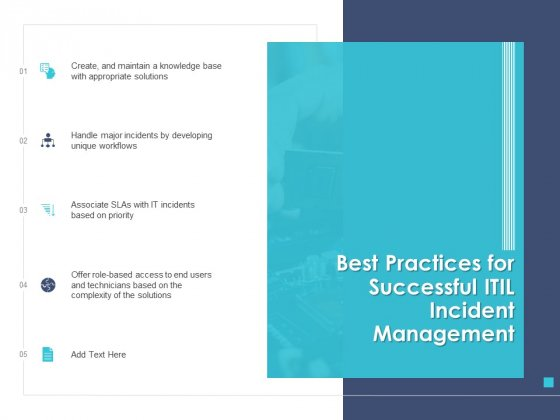 Managing ITIL Incidents Planning Best Practices For Successful ITIL Incident Management Introduction PDF