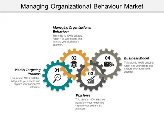 Managing Organizational Behaviour Market Targeting Process Business Model Ppt PowerPoint Presentation Professional Portfolio