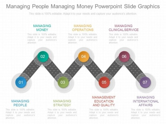 Managing People Managing Money Powerpoint Slide Graphics