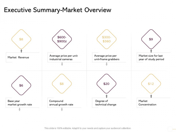 Managing Portfolio Growth Options Executive Summary Market Overview Ppt Outline Example Introduction PDF
