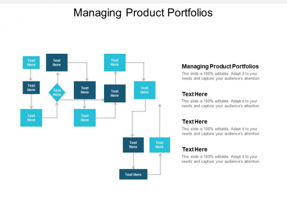 Managing Product Portfolios Ppt PowerPoint Presentation Show Background Images Cpb