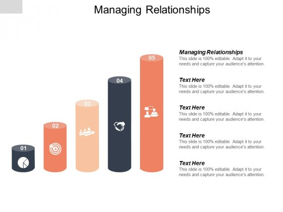 Managing Relationships Ppt PowerPoint Presentation Styles Outline Cpb