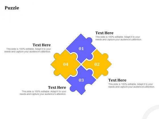 Managing Work Relations In Business Puzzle Ppt PowerPoint Presentation Portfolio Design Ideas PDF