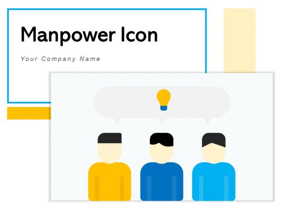 Manpower Icon Marketing Organization Ppt PowerPoint Presentation Complete Deck