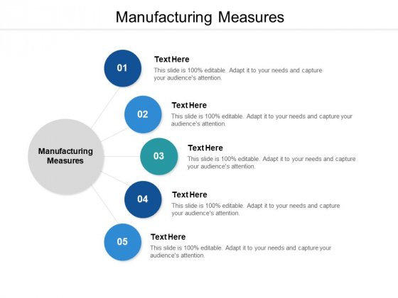 Manufacturing Measures Ppt PowerPoint Presentation Model Master Slide Cpb