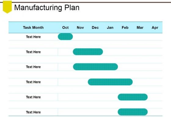 Manufacturing Plan Ppt PowerPoint Presentation Portfolio Example Introduction