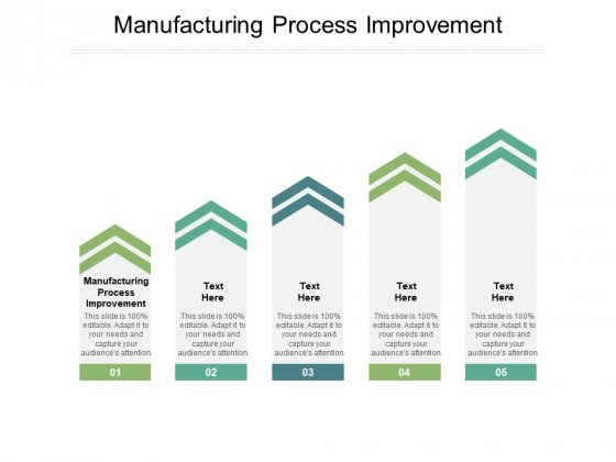 Manufacturing Process Improvement Ppt PowerPoint Presentation Show Outline Cpb