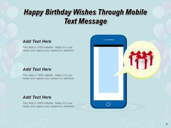 Many_Happy_Returns_Of_Day_Greetings_Cake_Icon_Mobile_Ppt_PowerPoint_Presentation_Complete_Deck_Slide_6