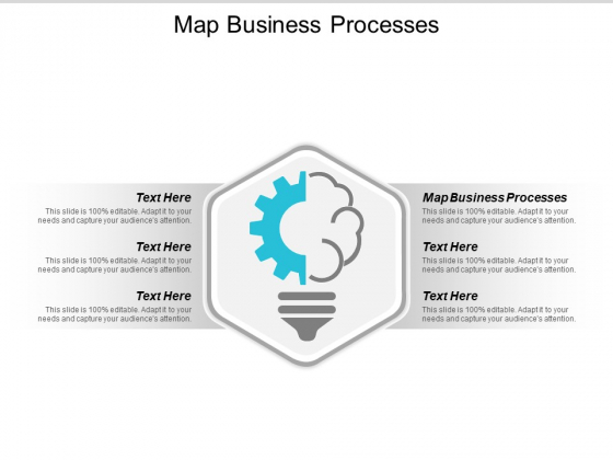 Map Business Processes Ppt PowerPoint Presentation Professional Outfit Cpb
