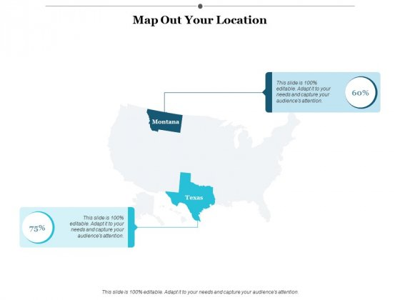 Map Out Your Location Ppt PowerPoint Presentation Professional Example Topics