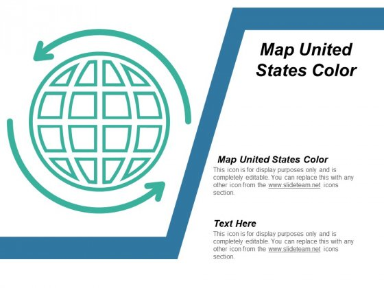Map United States Color Ppt PowerPoint Presentation Layouts Design Inspiration