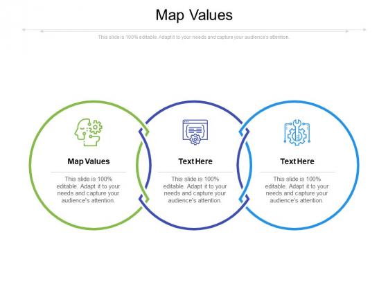 Map Values Ppt PowerPoint Presentation File Design Ideas Cpb Pdf
