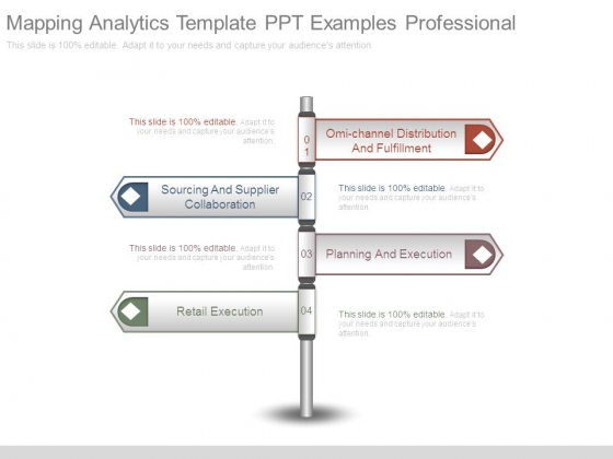 Mapping Analytics Template Ppt Examples Professional
