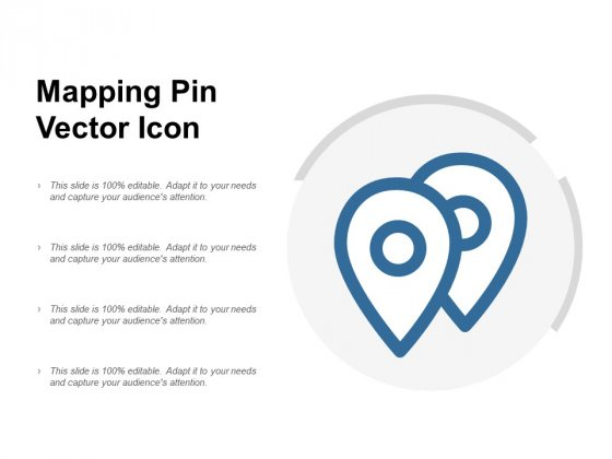 Mapping Pin Vector Icon Ppt PowerPoint Presentation Infographics Brochure
