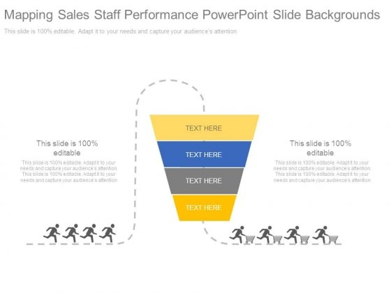 Mapping Sales Staff Performance Powerpoint Slide Backgrounds