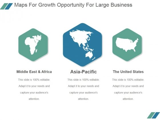 Maps For Growth Opportunity For Large Business Ppt PowerPoint Presentation Inspiration