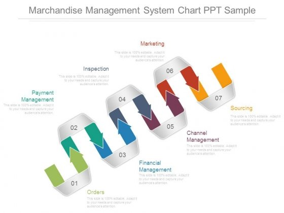 Marchandise Management System Chart Ppt Sample
