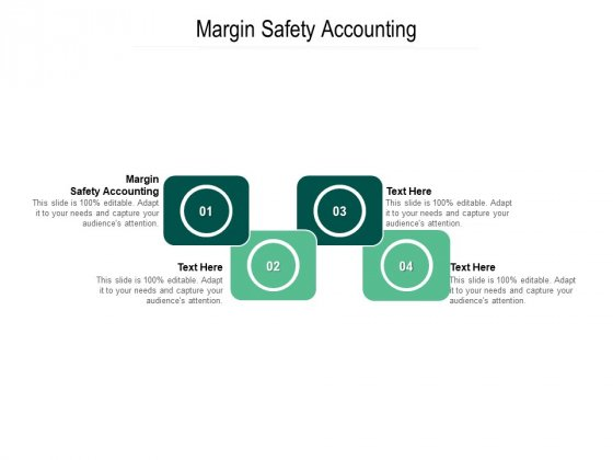 Margin Safety Accounting Ppt PowerPoint Presentation Ideas Examples Cpb Pdf