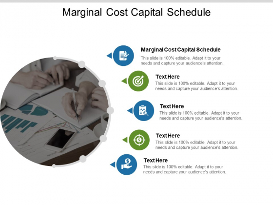 Marginal Cost Capital Schedule Ppt PowerPoint Presentation Inspiration Templates Cpb