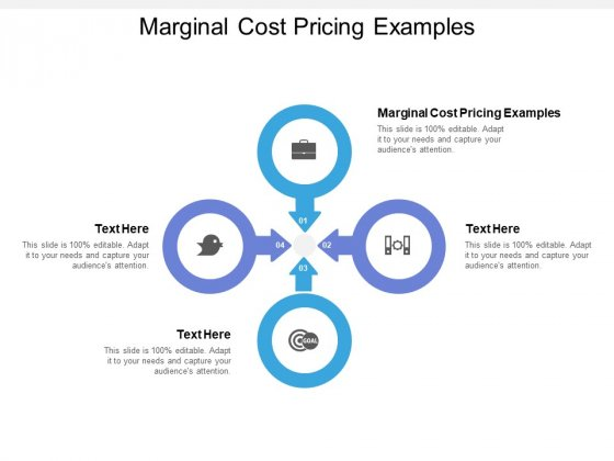Marginal Cost Pricing Examples Ppt PowerPoint Presentation Pictures Guidelines Cpb
