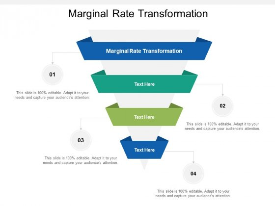 Marginal Rate Transformation Ppt PowerPoint Presentation Professional Ideas Cpb