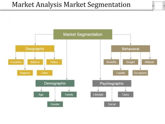 Market Analysis Market Segmentation Ppt PowerPoint Presentation Professional Backgrounds