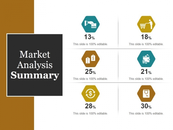 Market Analysis Summary Ppt PowerPoint Presentation Show Graphics Download